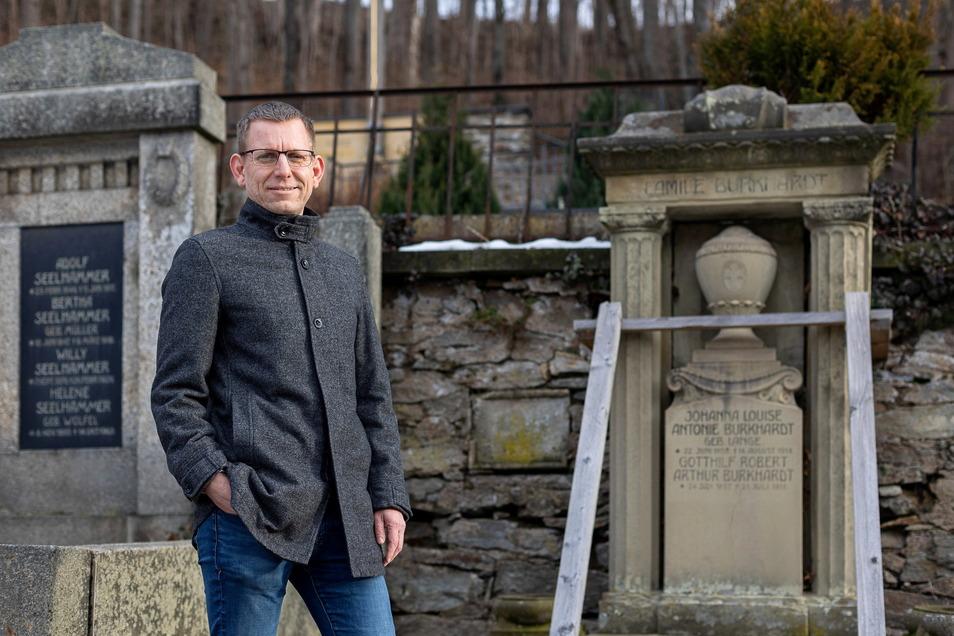 Auch der geplante Pfad auf dem Glashütter Friedhof wurde mit Geld aus Brüssel finanziert.