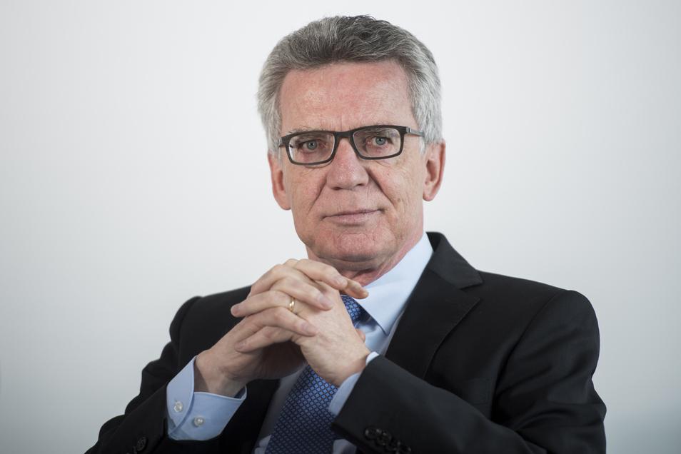 NImmt langsam Abschied von Meißen: Thomas de Maizière tritt 2021 nicht mehr als Bundestagskandidat an. Wer wird sein Nachfolger?