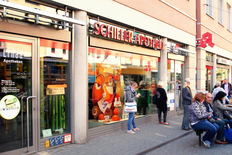 Die Schillerapotheke an der Loschwitzer Straße
