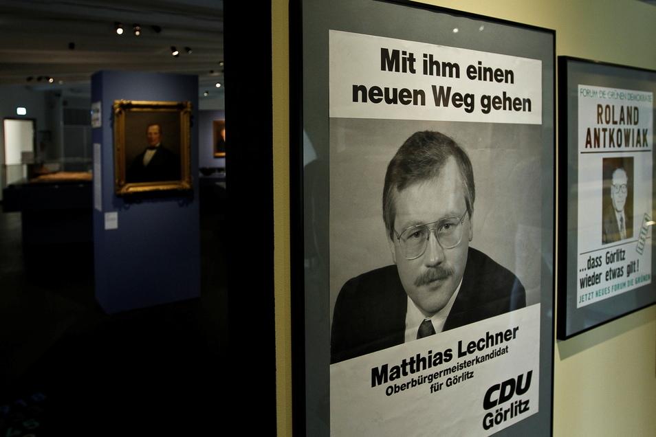 Dass Matthias Lechners OB-Amtszeit bereits Geschichte geworden ist, wurde auch vor einigen Jahren bei einer stadtgeschichtlichen Ausstellung im Görlitzer Kaisertrutz deutlich.