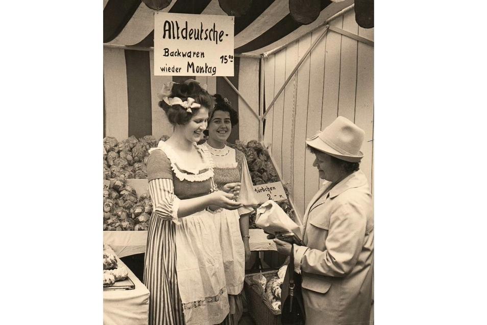 Backwaren nach alten Rezepturen und in ungewohnter Vielfalt waren ein Renner auf dem Historischen Markt.