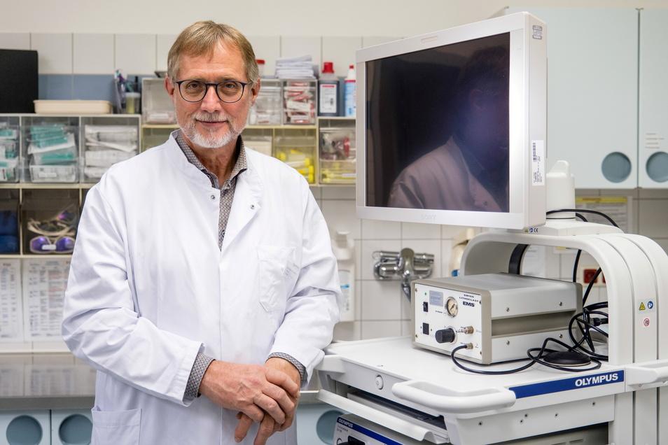 Erst Chefarzt der Urologie im Städtischen Klinikum, nun seit zehn Jahren im Malteser-Krankenhaus St. Carolus: Dr. Andreas Lammert.