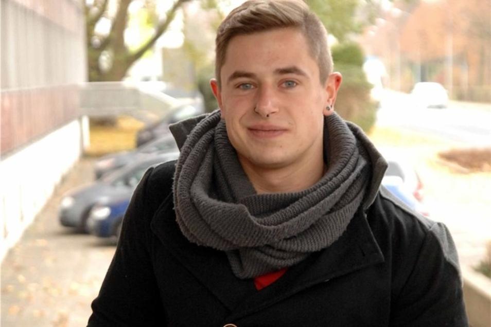 Der Alleinwohnende: Nach einer Ausbildung zum Zerspanungsmechaniker in den Görlitzer Siemens-Werken entschied sich Eric Himpel, ein Studium an der Hochschule Zittau/Görlitz anzufangen. Seit Ende September lernt er nun am Zittauer Standort Maschinenbau als