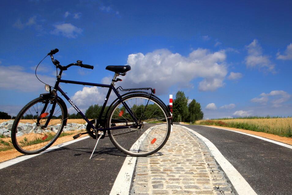 Kurz vor Löbau ist Schluss: Der Radweg durch das Cunewalder Tal soll noch bis zur Löbauer Raststätte verlängert werden.