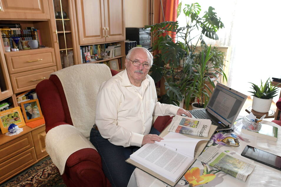 Joachim Herrmann aus Löbau schreibt äußerst fleißig Leserbriefe.