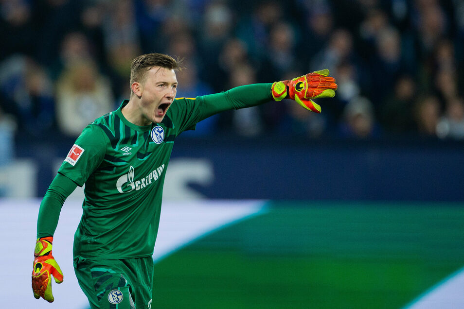 Markus Schubert steht derzeit bei Schalke als Nummer eins im Tor.
