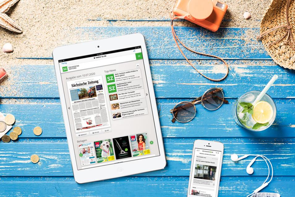SZ Digital: Sächsische.de und SZ E-Paper in einem Angebot