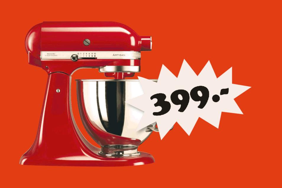 KitchenAid 5KSM 125EER empire Rot für 399 Euro