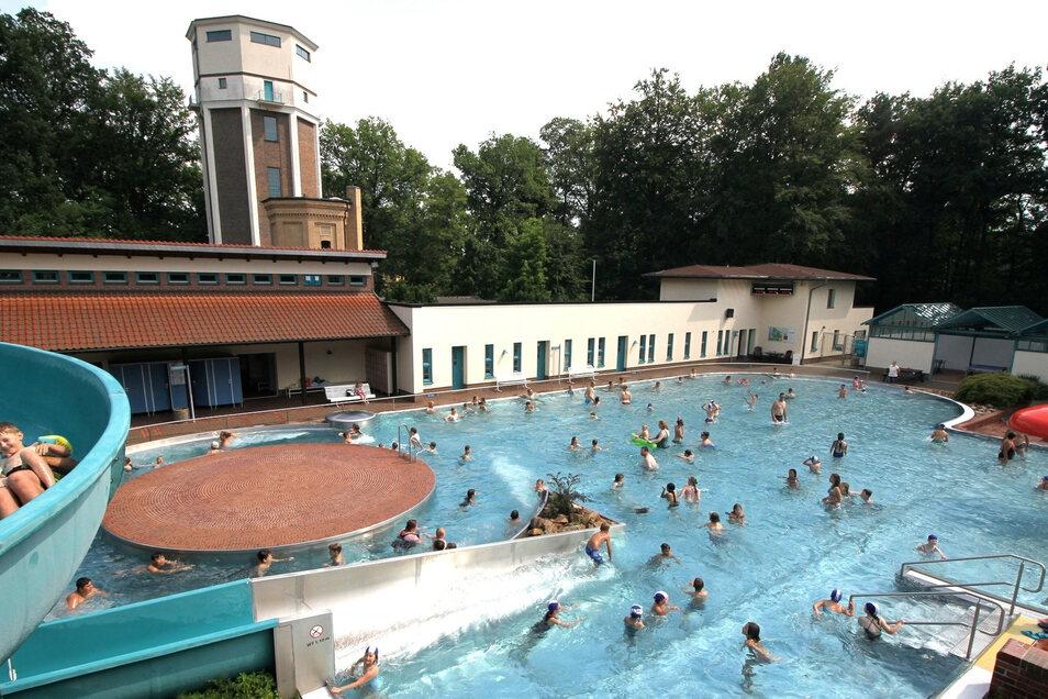 Bei Temperaturen um die 30 Grad war das Nieskyer Waldbad auch in dieser Saison stark besucht. Der Tagesrekord lag bei 1 722 Gästen
