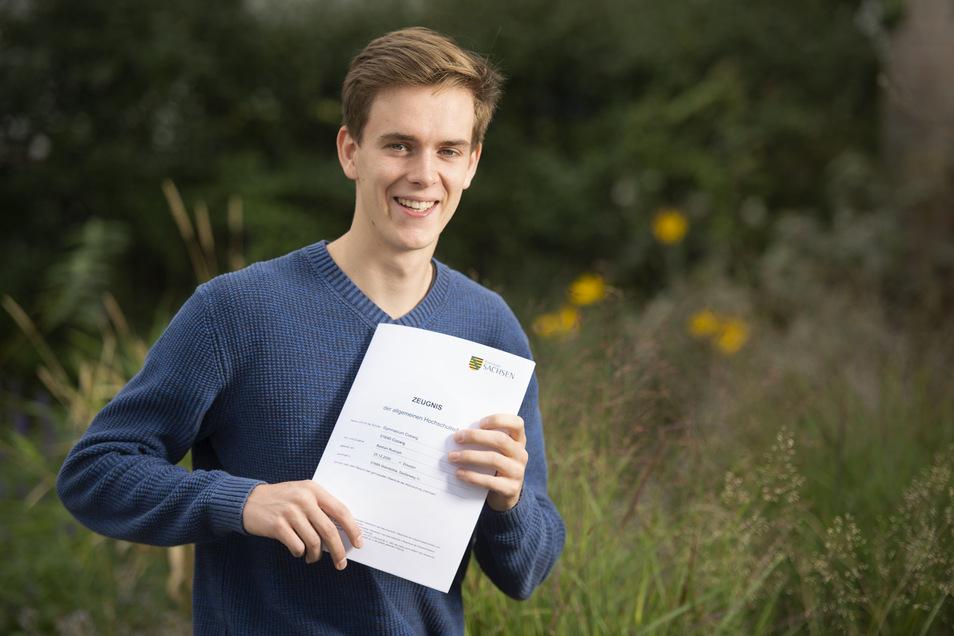 Bastian Rudolph hat erst in diesem Jahr seinen Abschluss gemacht.