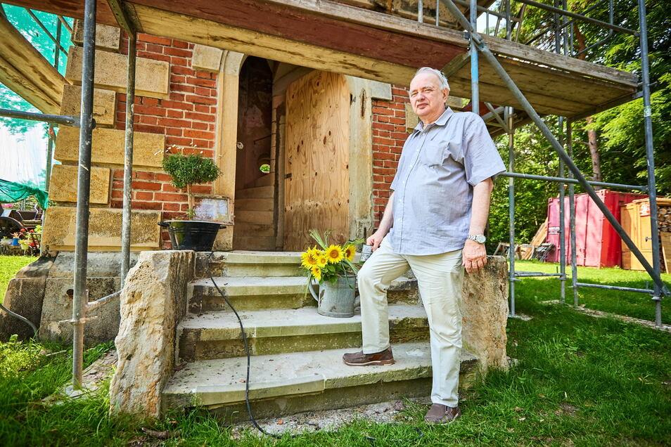 Uwe Pahlitzsch kommt inzwischen fast jedes Wochenende an den Lugturm. Das erste Mal ist 60 Jahre her.