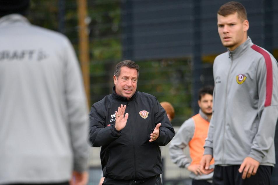 Nur ein Mannschaftstraining blieb Markus Kauczinski als Vorbereitung aufs Spiel gegen den Halleschen FC.