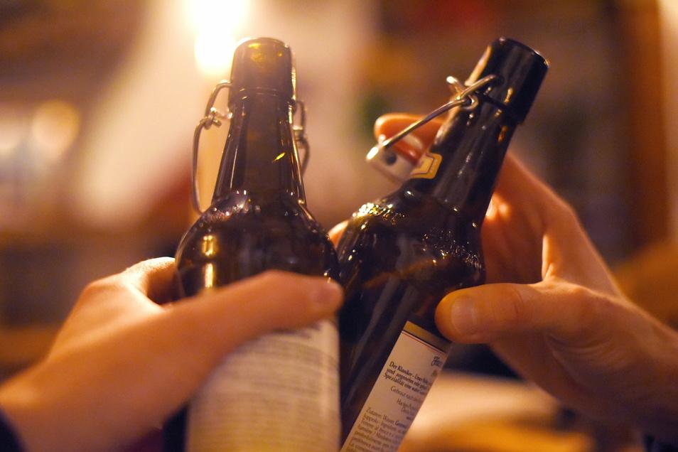 Unter den meistverkauften Bieren sind die in 0,33-Liter-Flaschen.