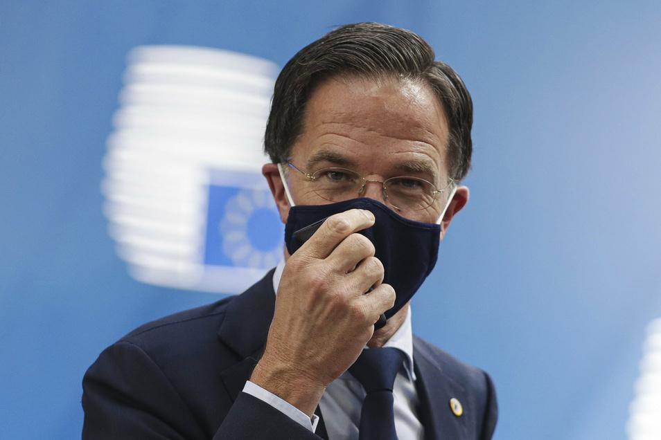 "Will kein ""Diktator"" Sein: Mark Rutte."