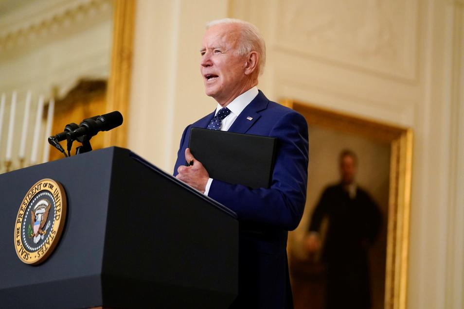 US-Präsident Joe Biden und seine Regierung setzen sich für die Aussetzung von Patenten für Corona-Impfstoffe ein.