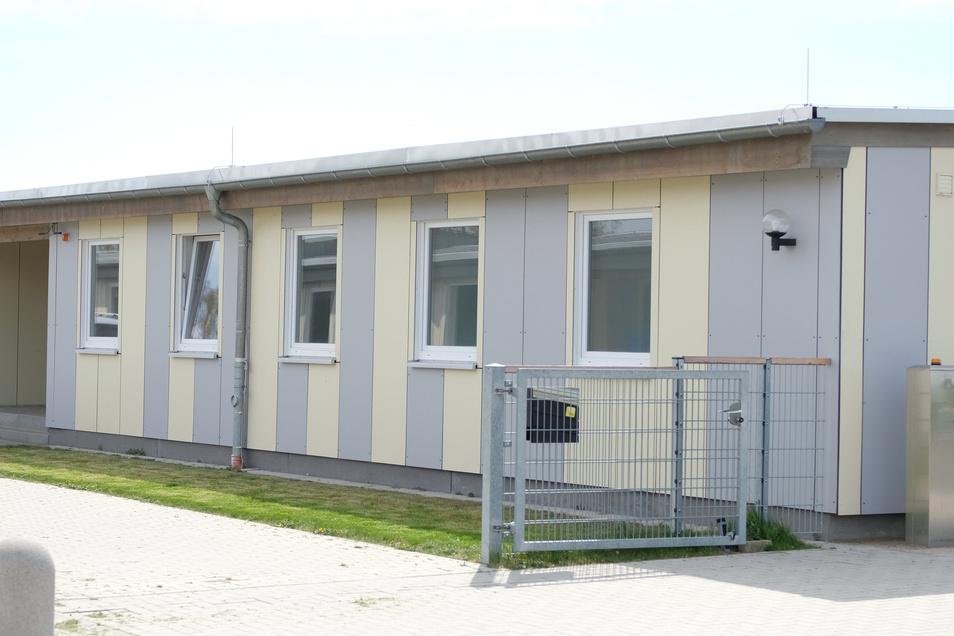 Im Interimsquartier der Evangelischen Oberschule Klipphausen gab es einen Wasserschaden.