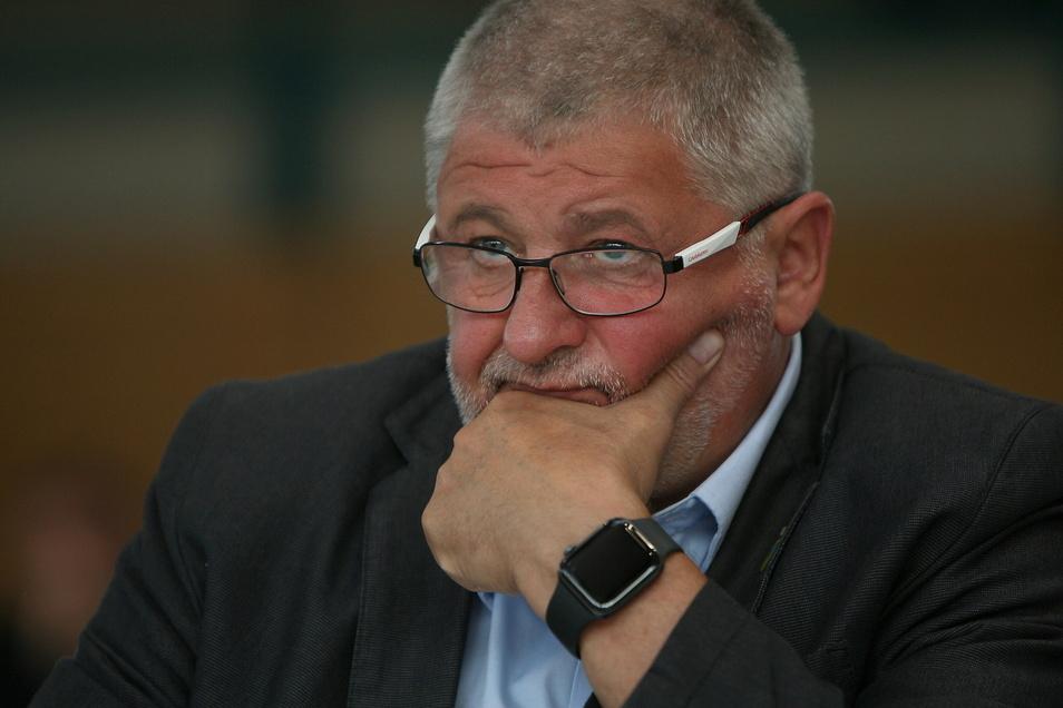 Peter Mühle, Bürgermeister von Neustadt, will 2022 noch eine zweite Amtszeit dranhängen.