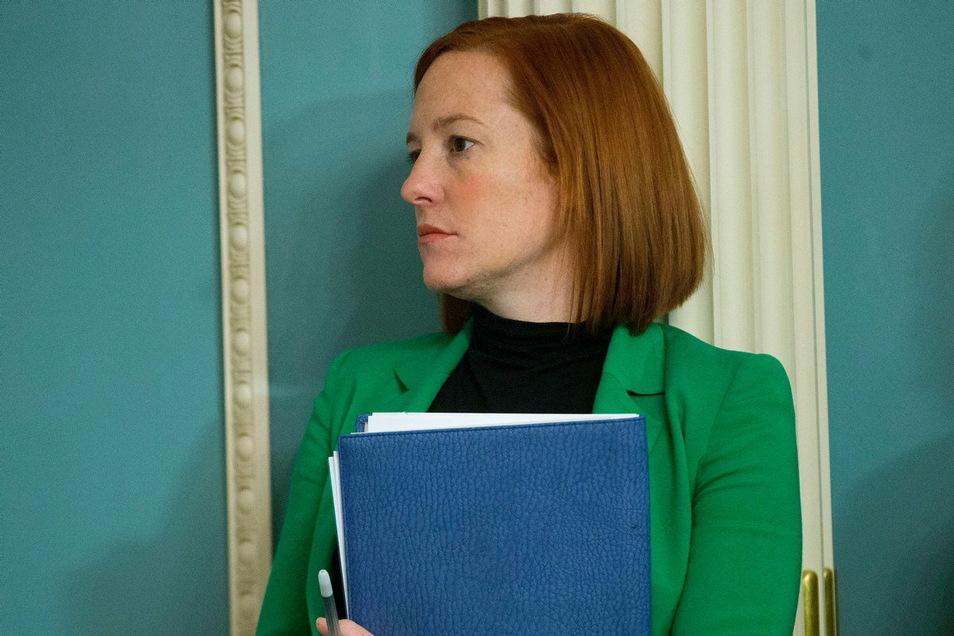 Die Rolle der Regierungssprecherin geht an Jen Psaki.