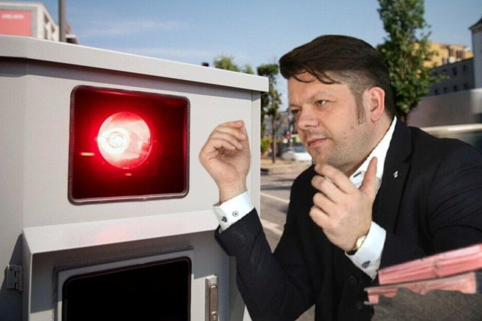 Zittaus OB musste seinen Führerschein abgeben.