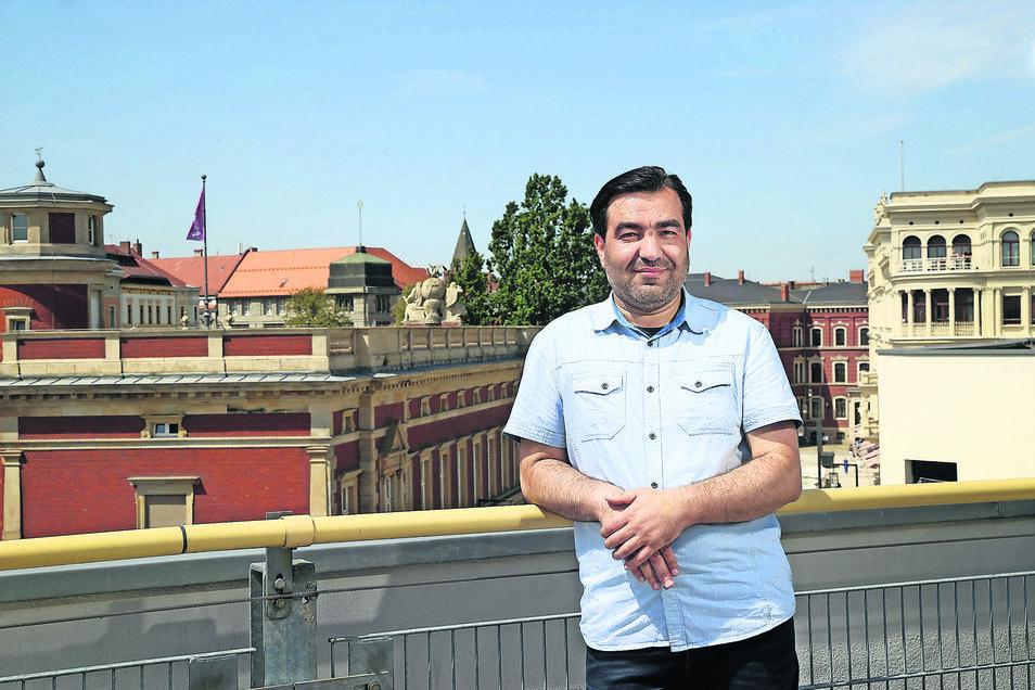 Jamal Aldin Alsulaiman ist HNO-Arzt. In Deutschland muss er einen großen Teil seines Berufsweges noch mal neu gehen.