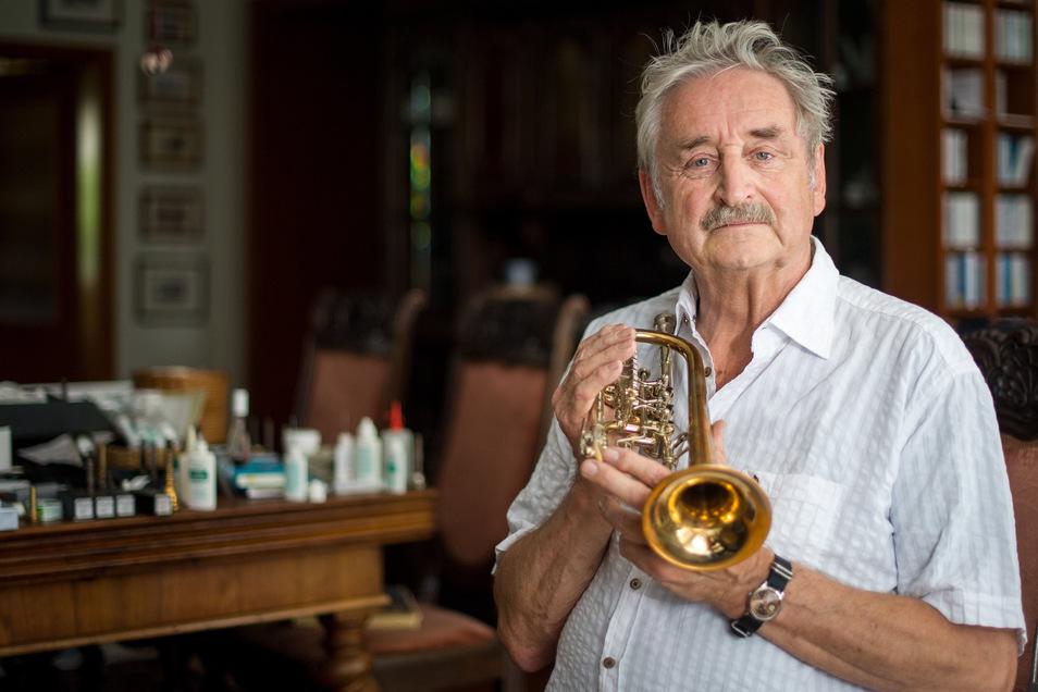Der Trompeter Ludwig Güttler hat wegen Krankheit sein geplantes Konzert absagen müssen.