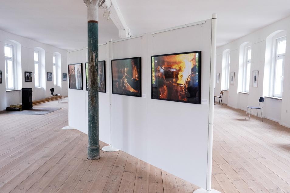 Blick in die Ausstellung im Fotomuseum.