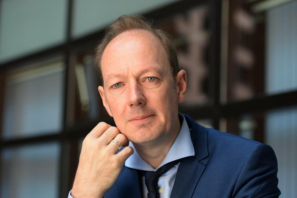 Der Europaabgeordnete Martin Sonneborn