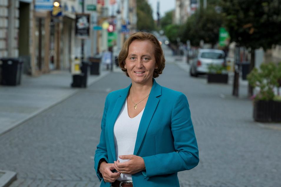 2019 war Beatrix von Storch schon einmal in Riesa - zu einem Wahlkampfauftritt an der Hauptstraße. Dieses Mal geht es nicht um den Landtag, sondern um die Bundestagswahl.