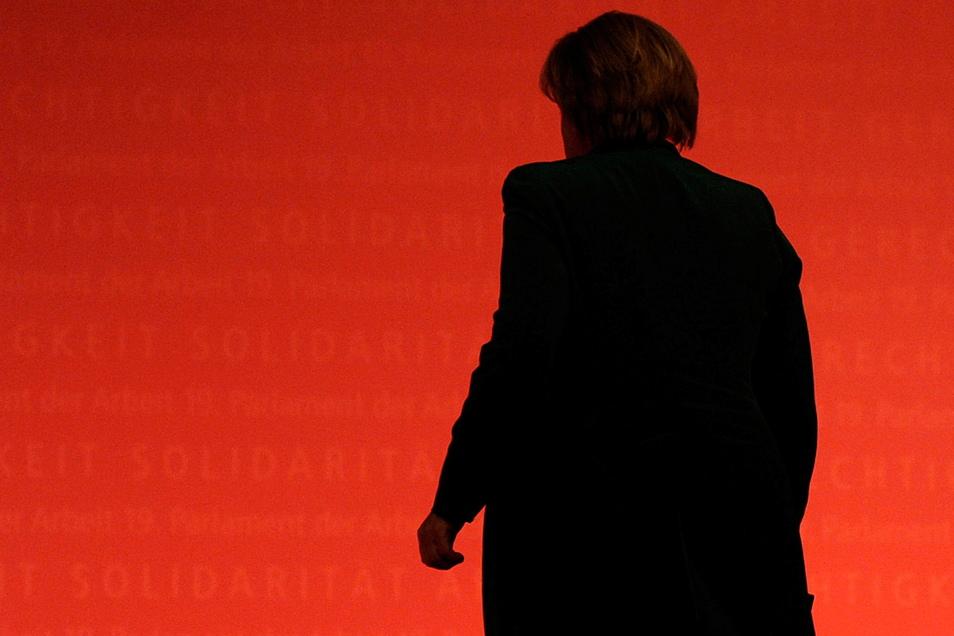 Bundeskanzlerin Angela Merkel (CDU) wird noch einmal nach Sachsen kommen, bevor sie im September aus dem Amt ausscheidet.
