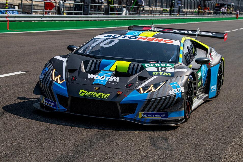 """Ob das Dresdner Team T3 auch in der kommenden DTM-Saison im Lamborghini Huracan Evo GT3 fahren wird, steht noch nicht fest. """"Die Gespräche laufen"""", sagt Teamchef Feucht."""