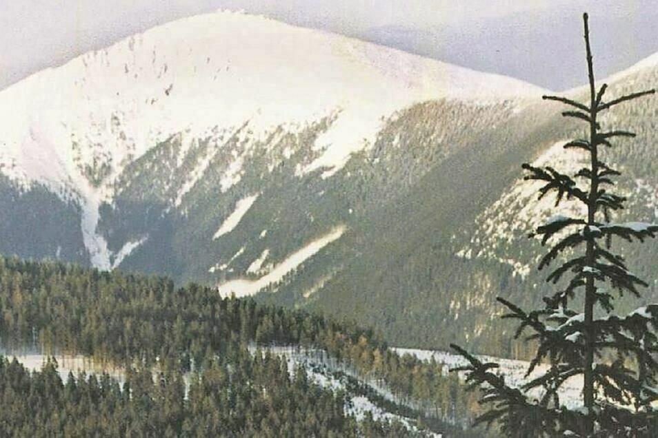 Blick aufs Riesengebirge
