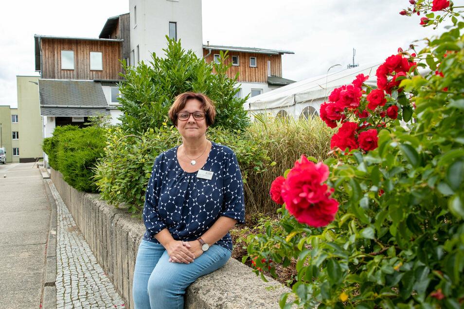 Bangt um die Wintersaison: Katja Hartmann vom Kinder- und Jugenderholungszentrum Kiez in Sebnitz.