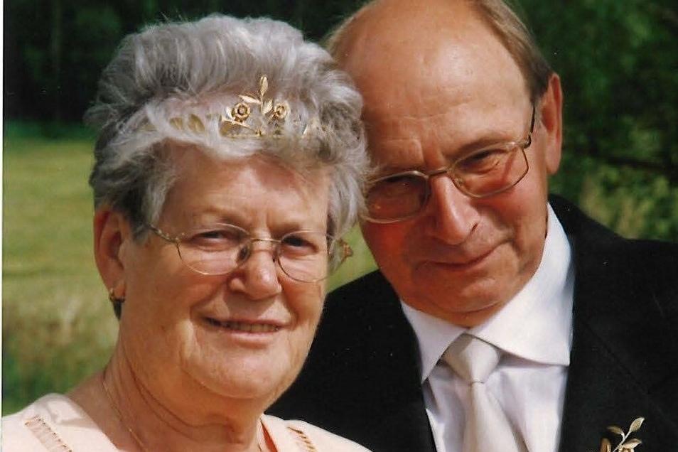 60 Jahre später konnten sie ihre Diamantene Hochzeit feiern.
