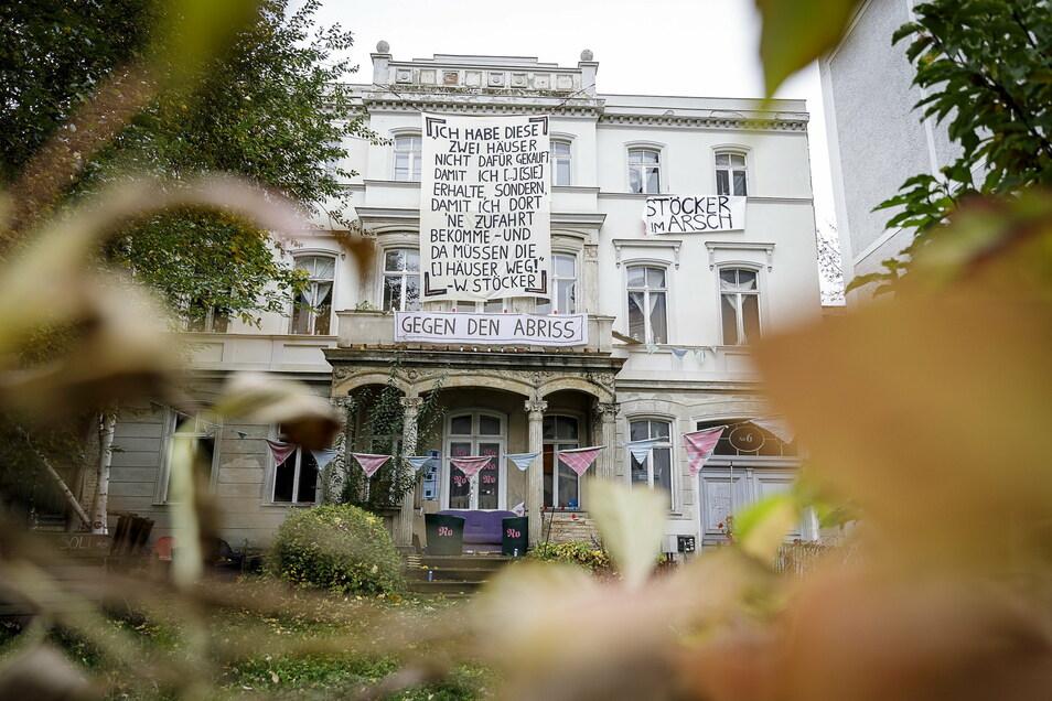 Diese Villa stammt aus der Mitte des 19. Jarhundert. Sie soll für ein größeres Parkhaus im Görlitzer Stadtzentrum weichen. Dagegen gibt es Protest.