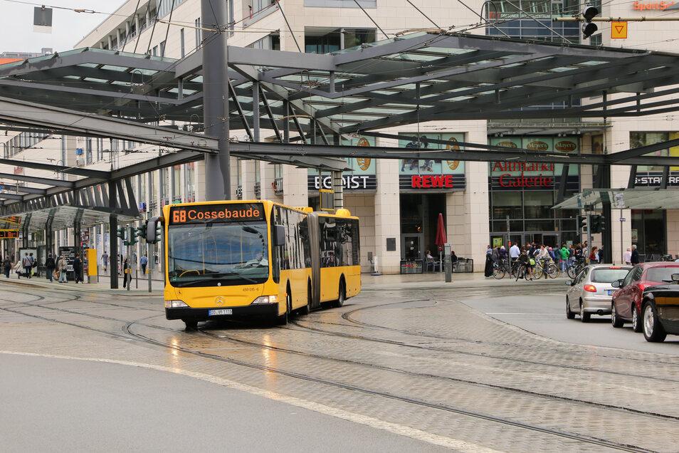 Am 6. September wird aus der Linie 75 die Linie 68. Der Fahrtweg ändert sich nicht. Die Busse der Linie 68 fahren tagsüber zwischen Leubnitzer Höhe und Cossebaude alle 10 Minuten.