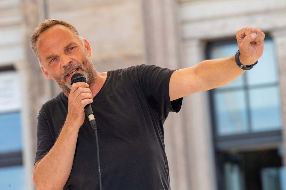 Dirk Neubauer (SPD) ist Bürgermeister der Stadt Augustusburg.