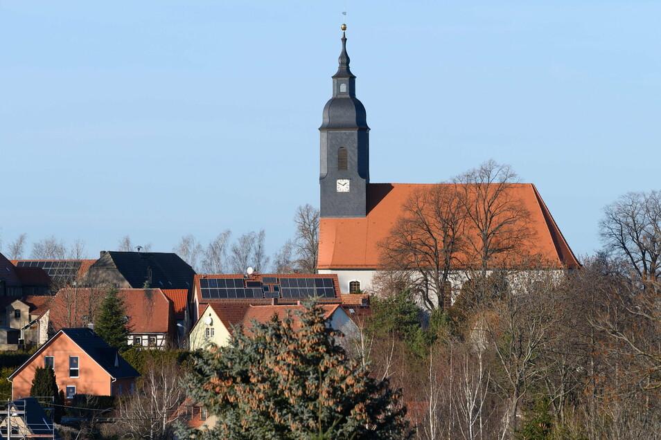 Blick auf die Gemeinde Käbschütztal im Landkreis Meißen: Hier wurde der landesweit höchste Inzidenzwert registriert.