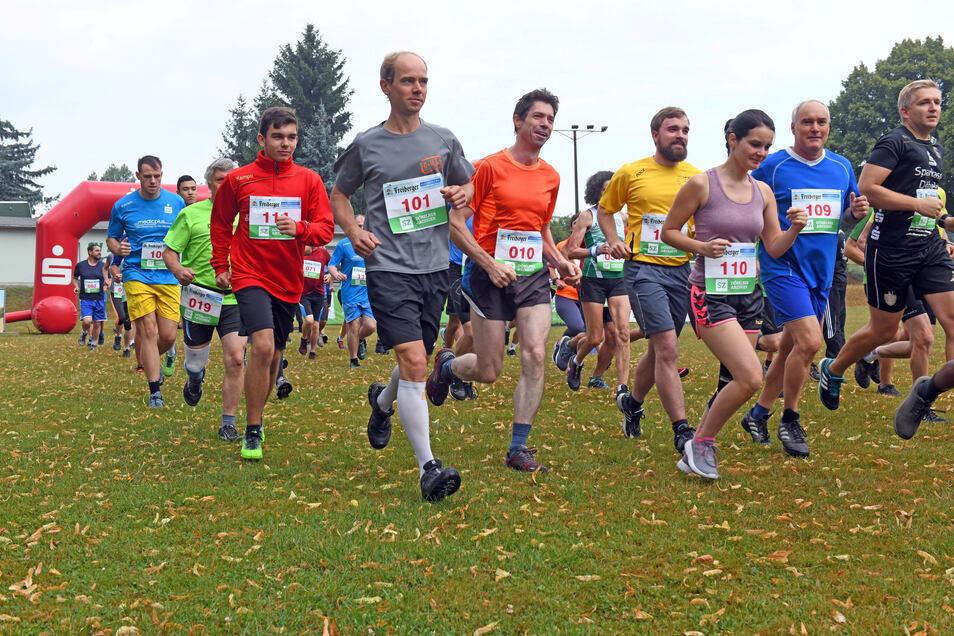 Beim 38. Waldheimer Eichberglauf Anfang August könnte der Start in die 16. Mittelsächsische Lauftour unter Umständen gelingen.