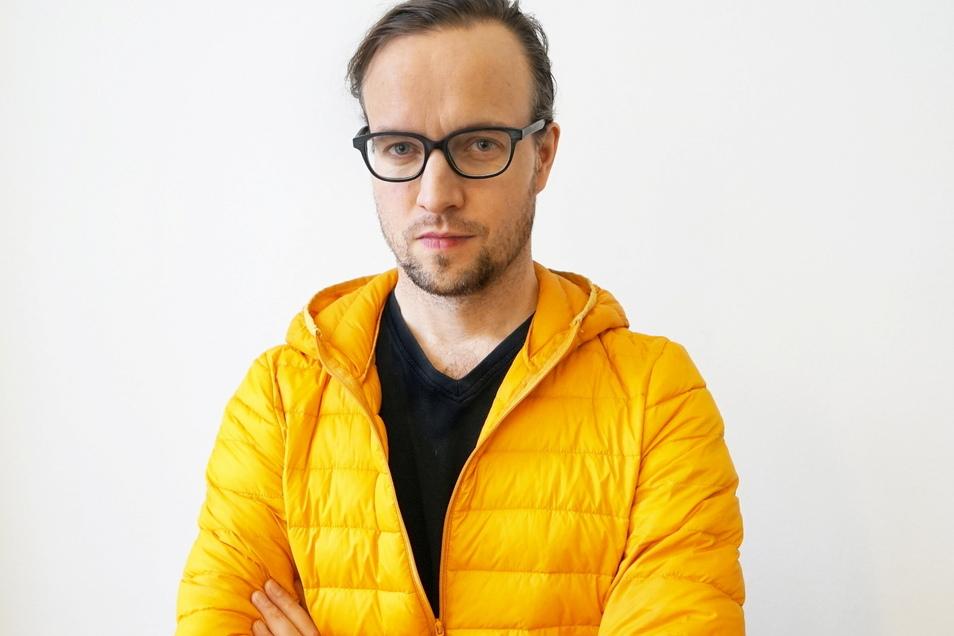 """Moritz Lobeck leitet das """"Tonlagen""""-Festival und setzt damit wichtige Akzente."""