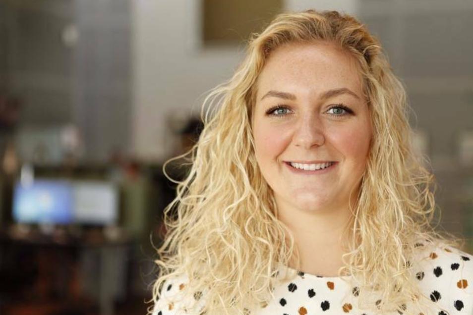 Die Reporterin Louise Fischer sorgt in Dänemark für Gesprächsstoff.