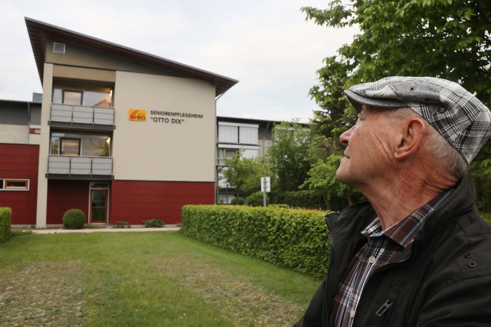 Im Seniorenpflegeheim Otto Dix in Gera wohnt Alfons Blums Ehefrau.