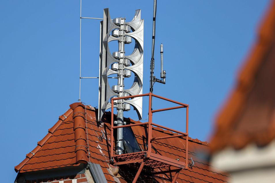 Am Mittwoch melden die Sirenen in Dresden einen Alarm. Es ist aber nur ein Probealarm.