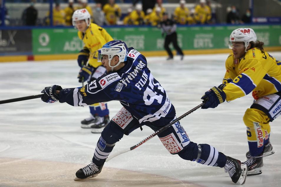 Dem Eislöwen Vladislav Filin gelang in Frankfurt nur noch Ergebniskosmetik.