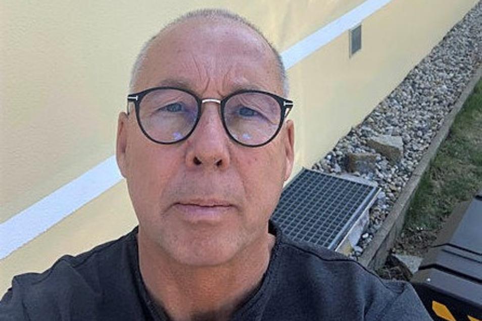 Physiotherapie-Geschäftsführer Thomas Heinz: Einfach eine nette Geste für die Lkw-Fahrer.