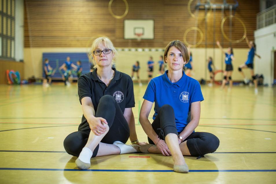 Die Schwestern und Wettkampftrainerinnen Katrin Höpner (l.) und Birgit Fischer schlagen Alarm.