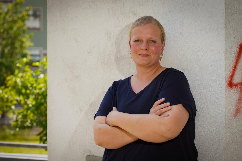 Seit fünf Jahren engagiert sich Claudia Freudenberg als Notfallseelsorgerin im Landkreis Bautzen. Jetzt leitet sie ein Team von 21 Ehrenamtlern.