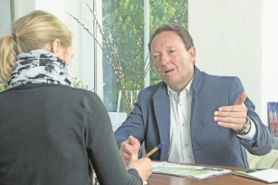 Jens Jähnig ist Vorsitzender der Georado-Stiftung in Dorfhain, unter deren Dach das Projekt Geopark vorangetrieben wird. Der gebürtige Dorfhainer will die Region am Tharandter Wald stärken und alle Einwohner für diese Pläne begeistern.
