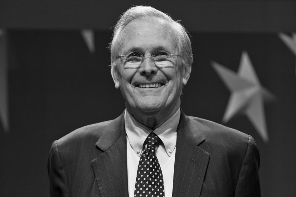 Ex-US-Verteidigungsminister Donald Rumsfeld ist gestorben.