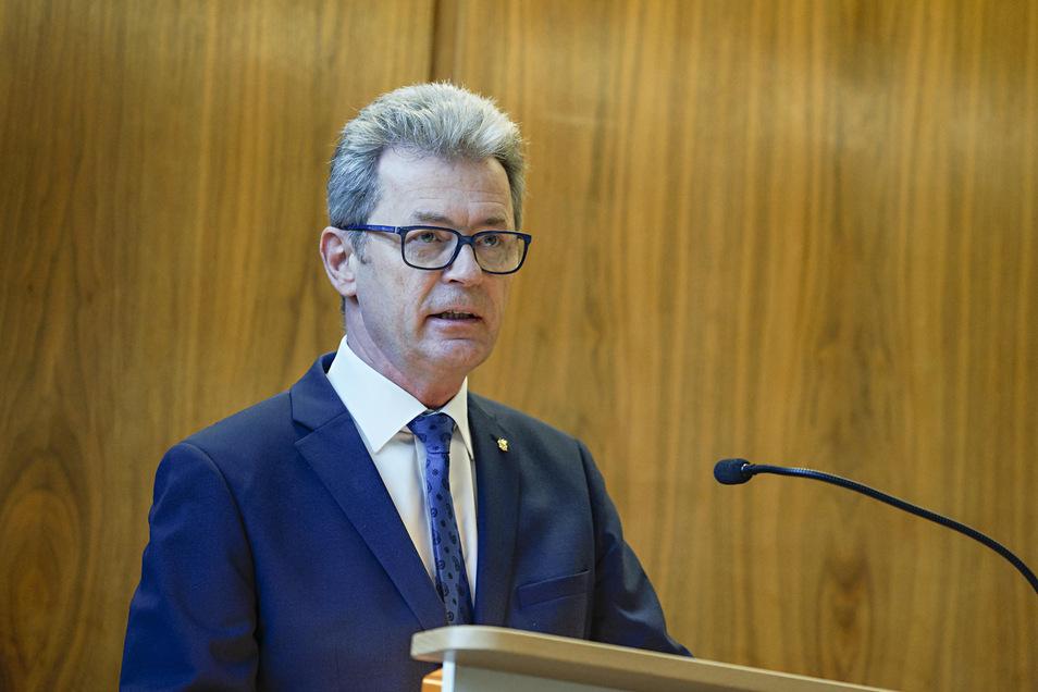 Er ist der neue Fraktionschef der CDU im Bautzener Stadtrat: Rolf-Alexander Scholze.