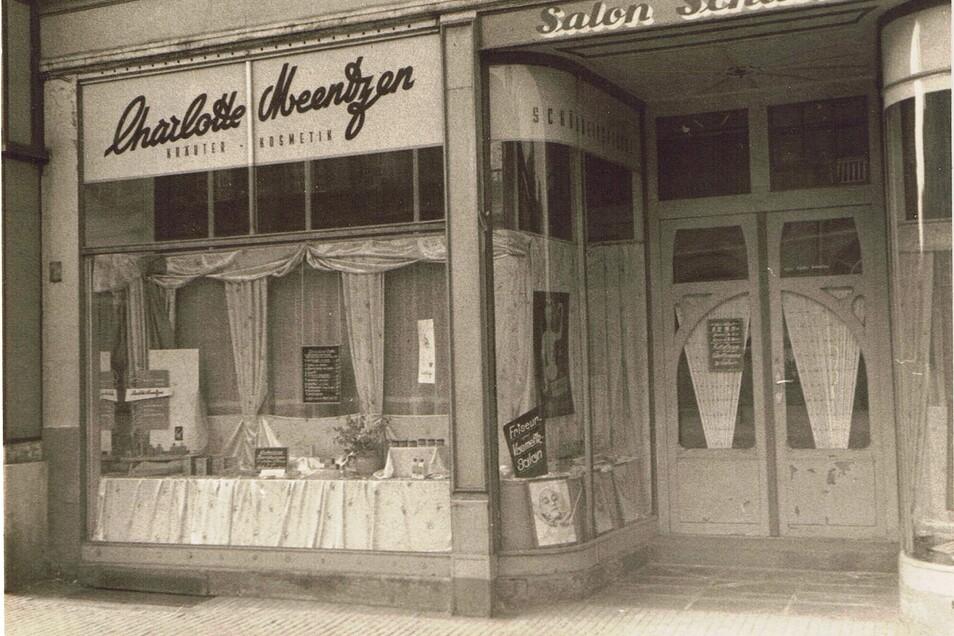 Auch in einer der nobelsten Dresdner Gegenden, dem Weißen Hirsch, wurde ein Charlotte Meentzen-Schönheitssalon eröffnet.